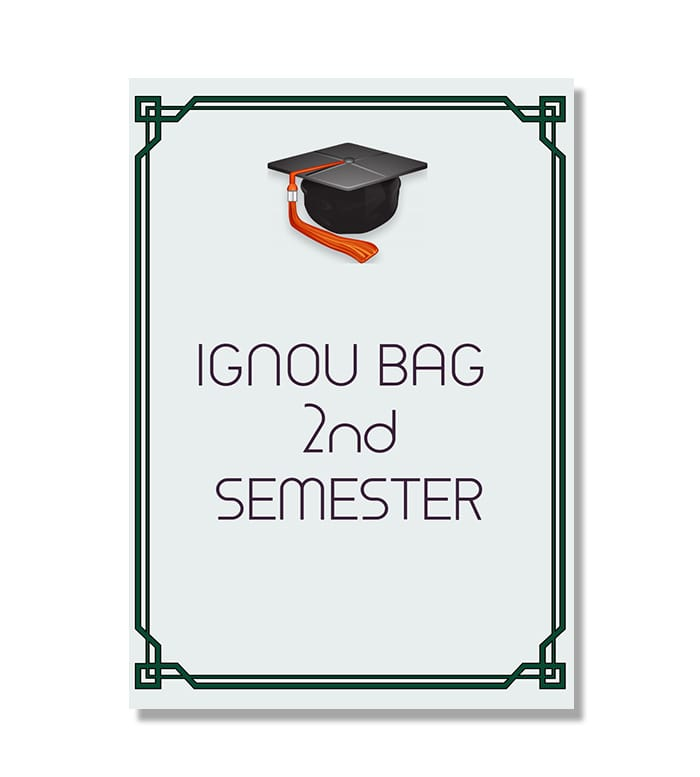 IGNOU BAG Second Semester