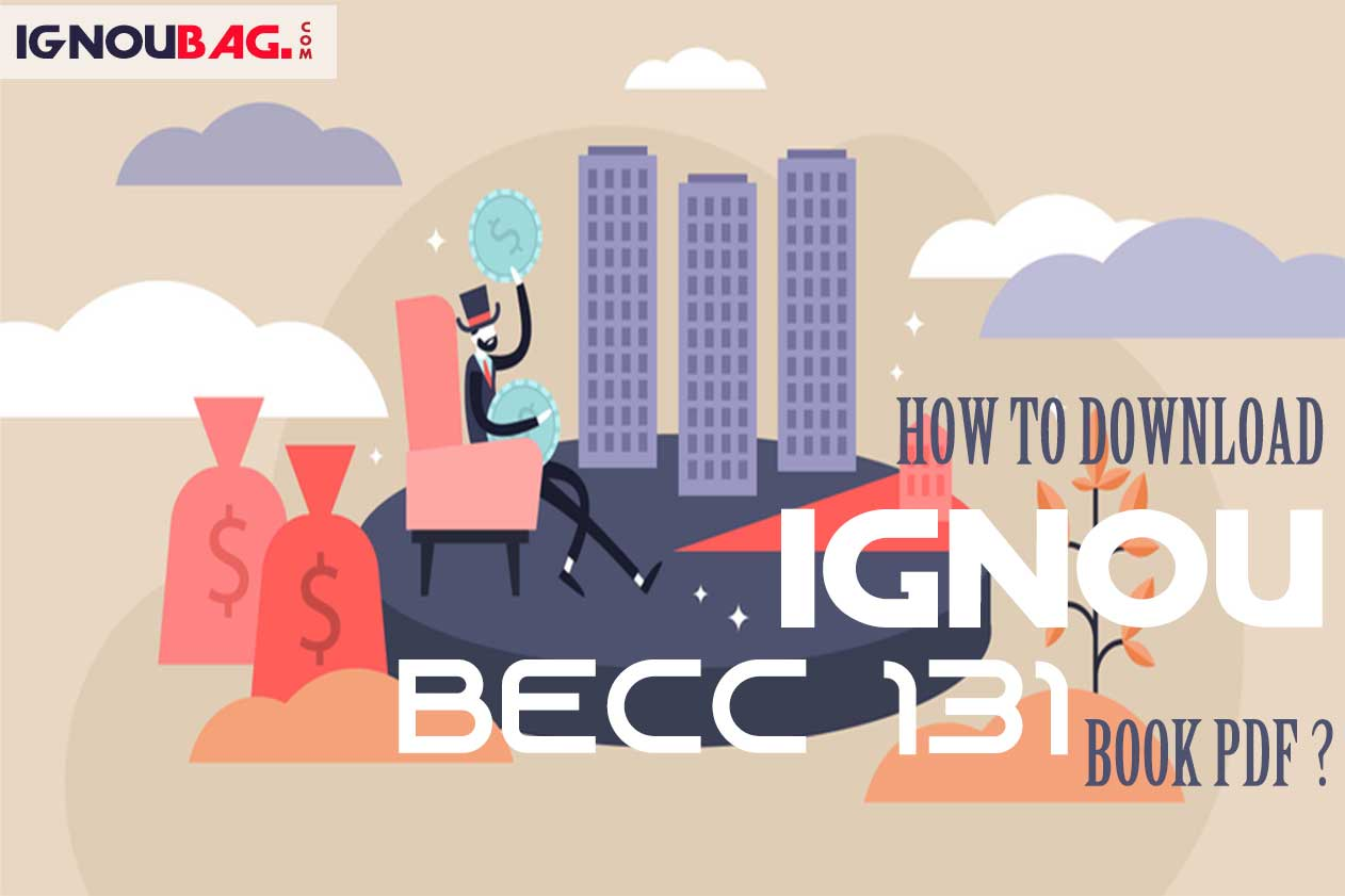 How to Download IGNOU BECC 131 Book Pdf?